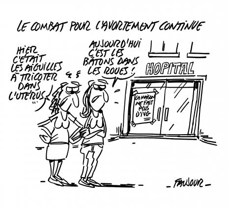 Satire avortement