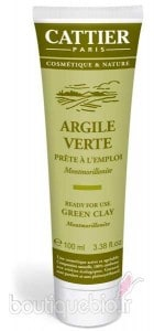 Masque argile cattier
