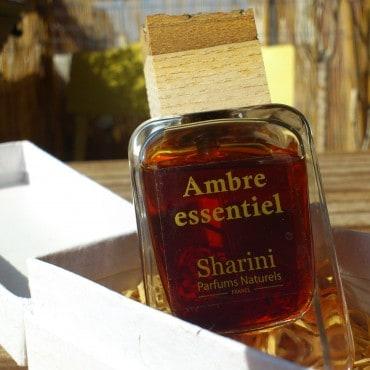Parfum bio ambre