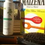 Shampoing sec 100 % sain et économique avec argile et Maïzena !