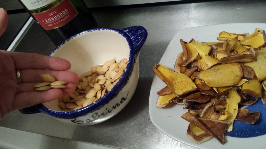 Chips d'épluchure