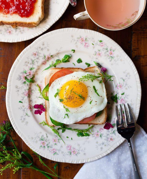 Recette petit déjeuner salé sain