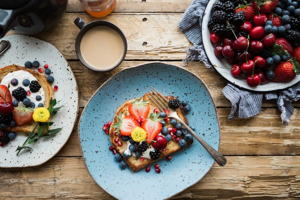 Recette petit déjeuner bio sain fruits
