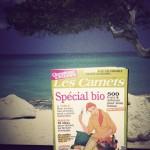 A acheter en kiosques : carnet spécial bio pas cher