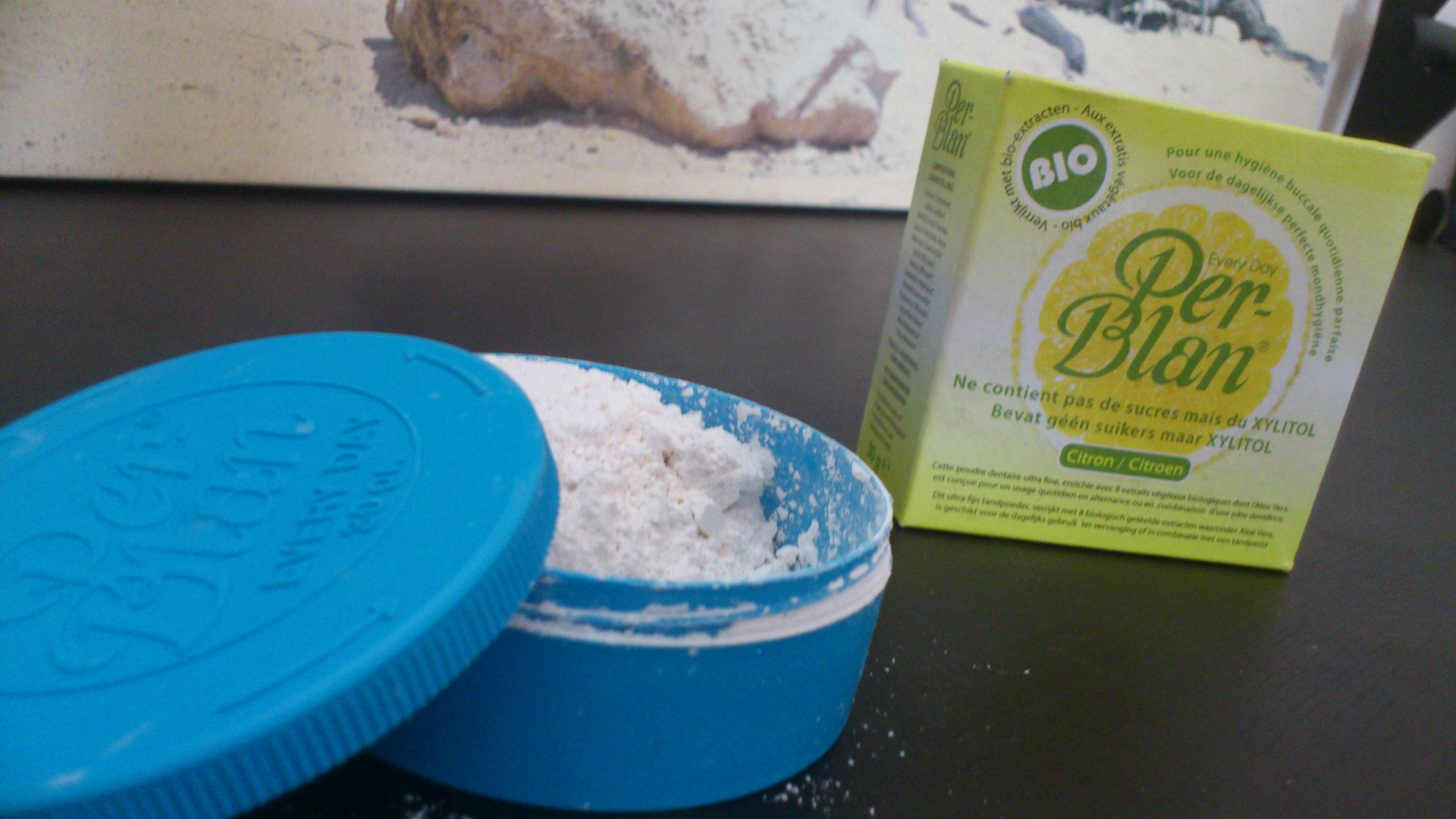 J'ai testé pour vous … le dentifrice bio et naturel en poudre