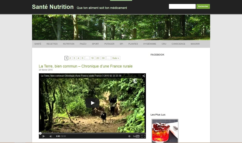 """N'allez plus sur le site honteux """"Santé-Nutrition.org"""""""
