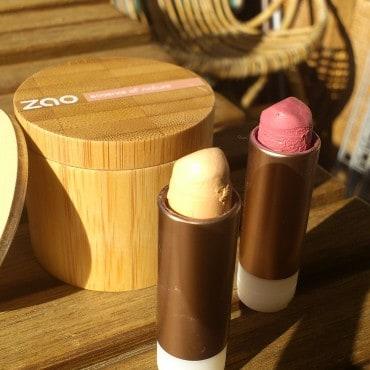 Test maquillage zao