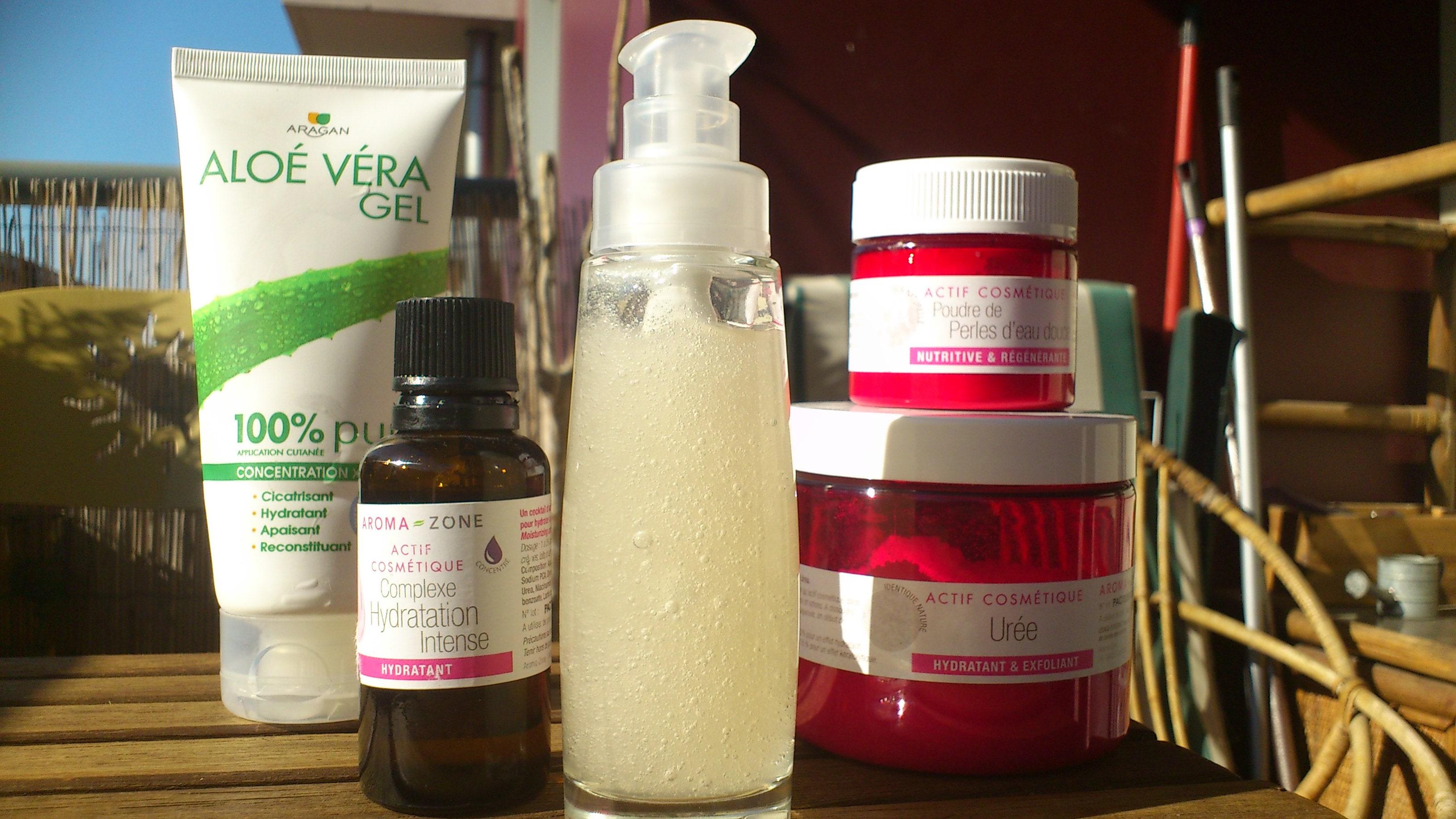 Crème visage fait-maison éclat et nutrition