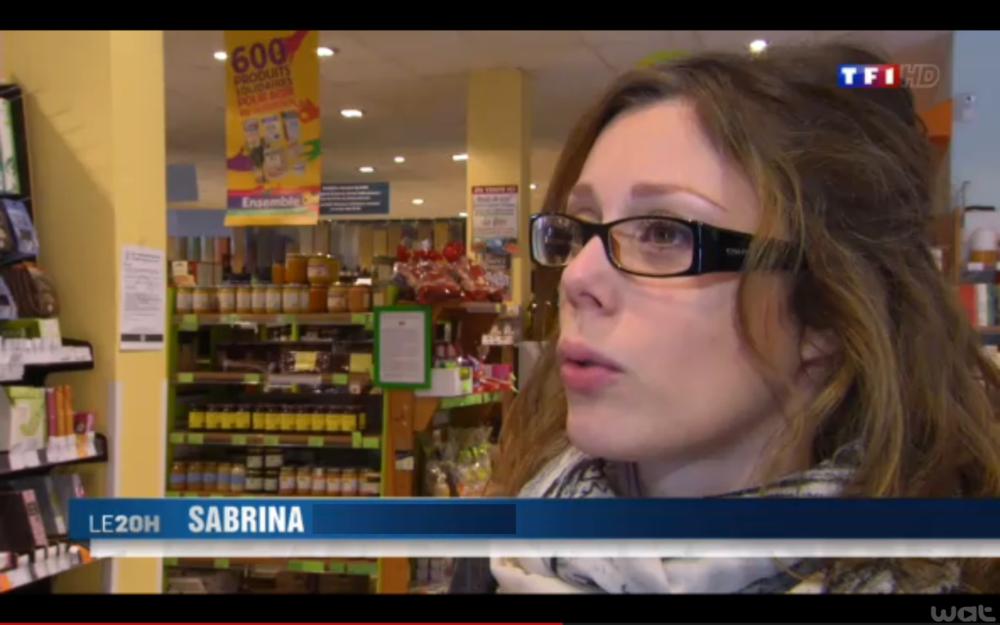 Sabrina Debusquat reportage TF1 obsession manger sain