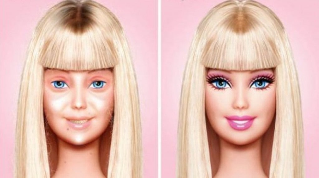 Barbie sans maquillage artiste mexicain