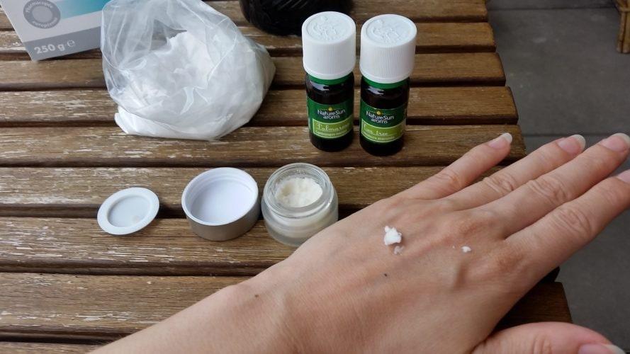 Recette déodorant naturel bicarbonate