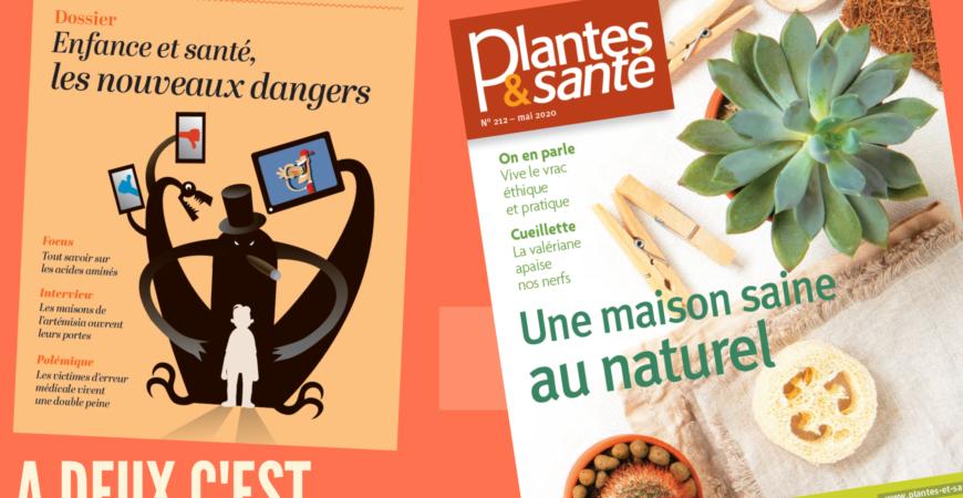 Je rejoins Alternative Santé et Plantes & Santé